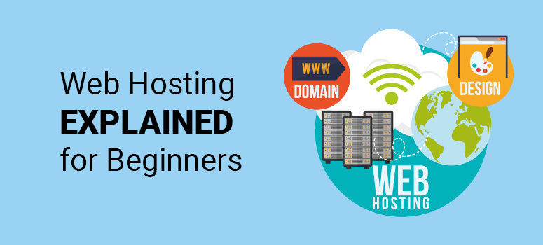 web hosting explained