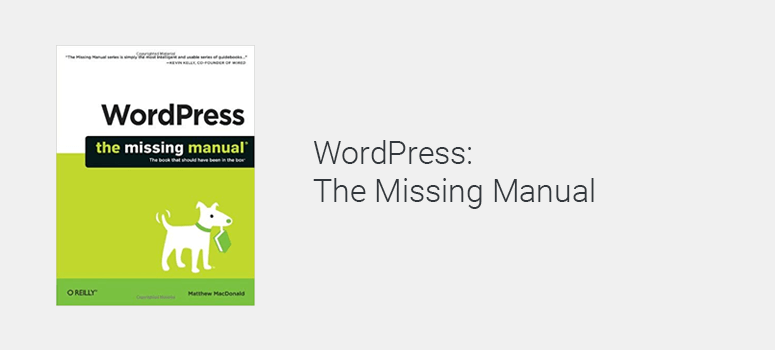WordPress the Missing Manuals