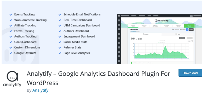 analytify plugin