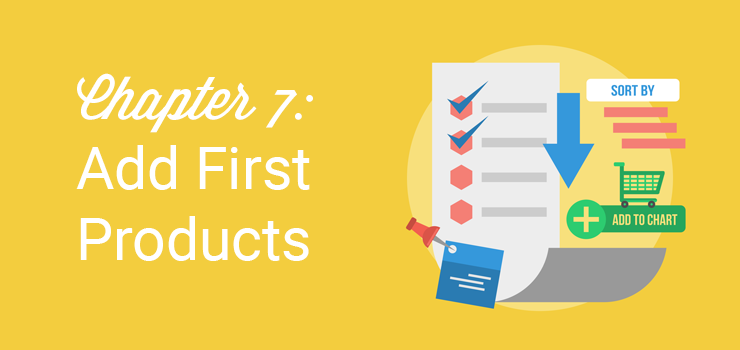 chapter 7 add first products