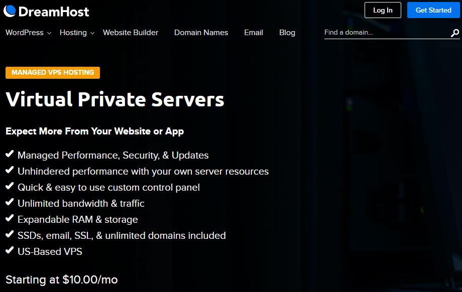 dreamhost vps hosting review