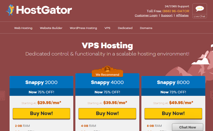 hostgator vps hosting review