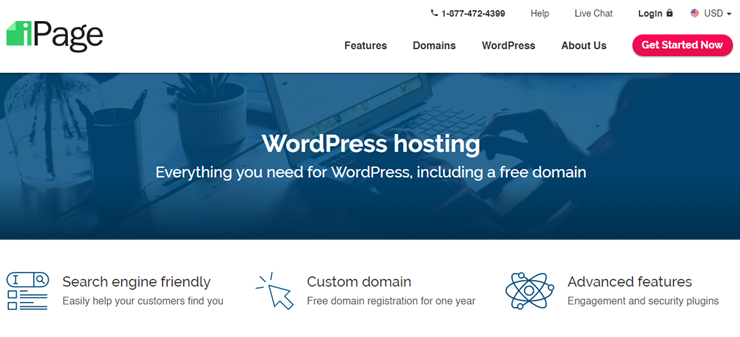 ipage wordpress hosting review .