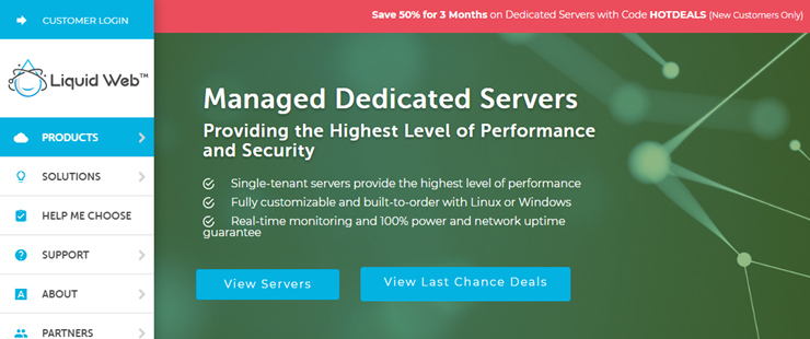 liquid web managed dedicated servers review
