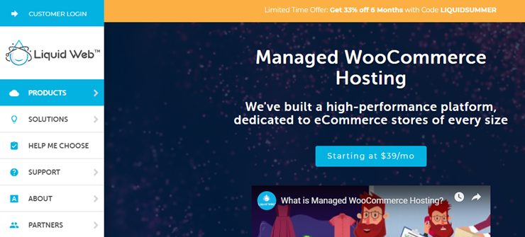 liquid web managed woocommerce hosting review