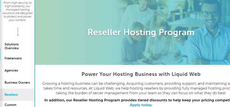 liquid web reseller hosting review