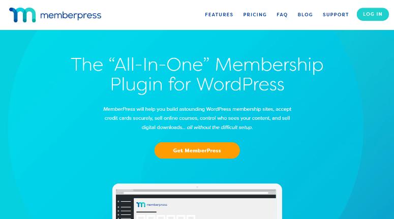 memberpress membership plugin with LMS