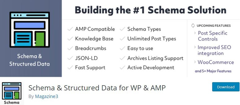 Schema and Structured Data for WP