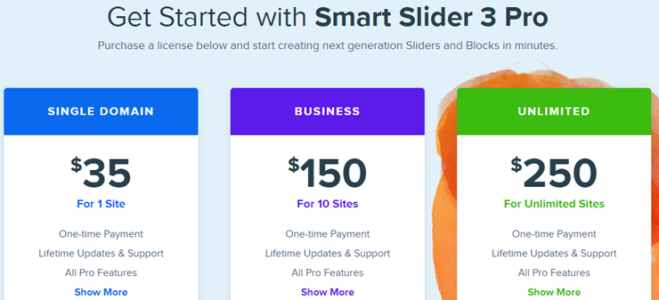 smart slider 3 pricing
