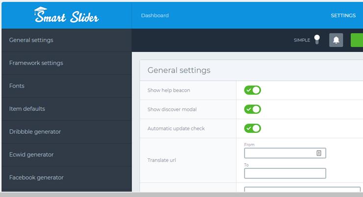 smart slider 3 settings