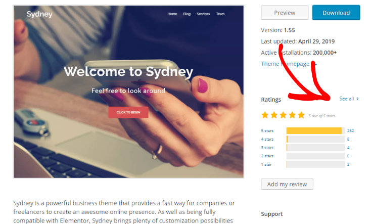 wordpress-theme-reviews