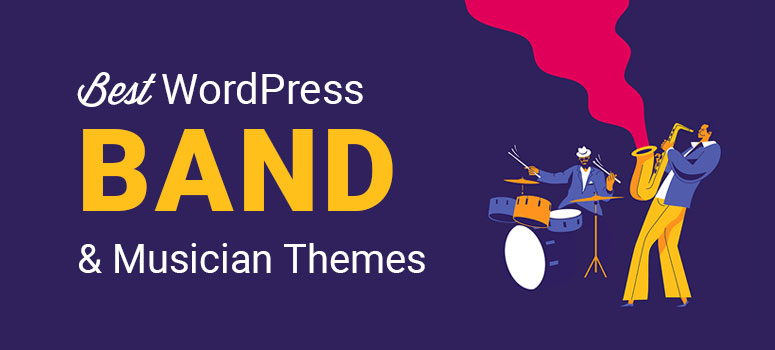 best wordpress band and musician themes