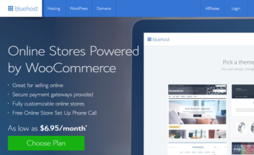 Bluehost WooCommerce Hosting Review