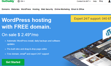 GoDaddy WordPress Hosting Review