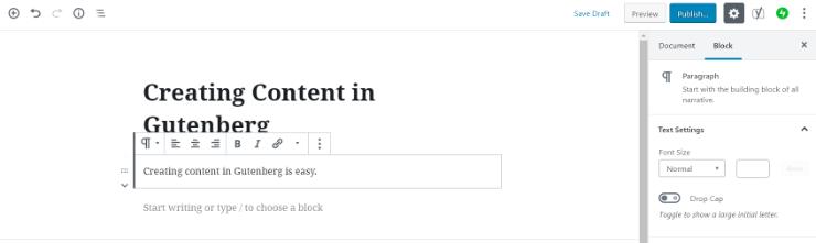 gutenberg-block-toolbar