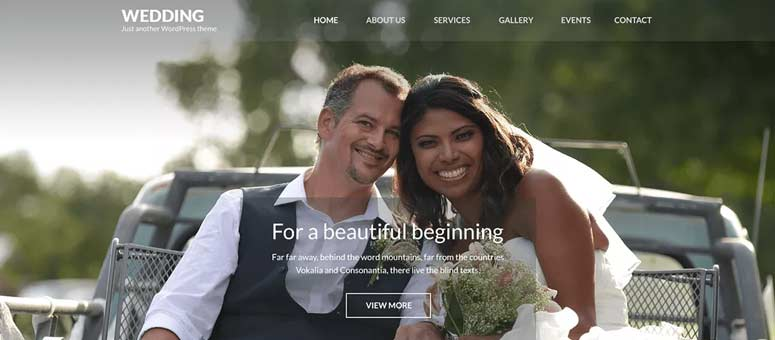 23 Best WordPress Themes For Wedding and Engagement (2019)