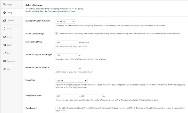 Envira Gallery configuration, Envira Gallery vs Foogallery