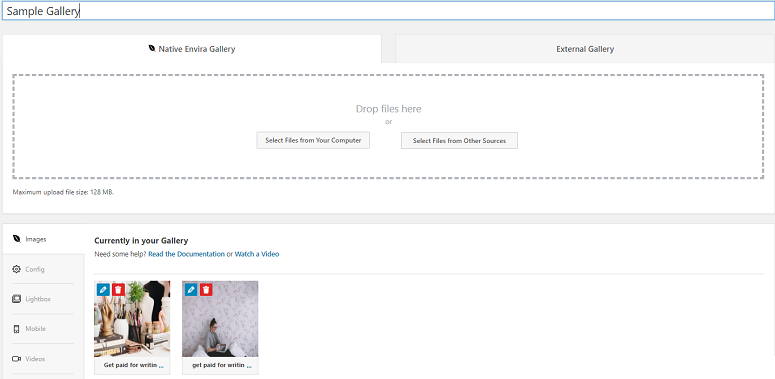 Envira Gallery vs Foogallery,