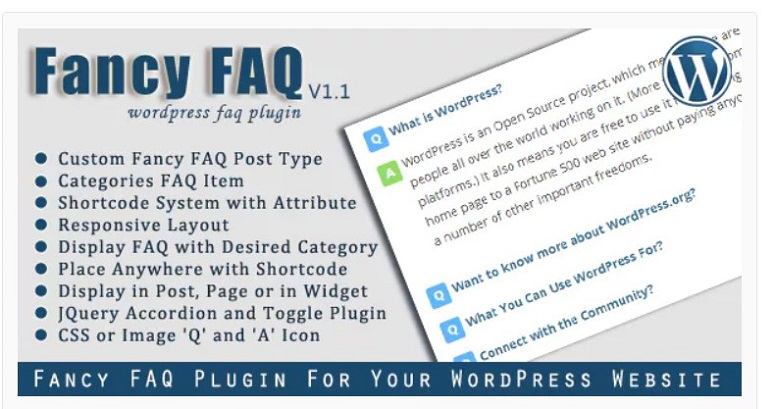 Fancy FAQs, FAQ plugins