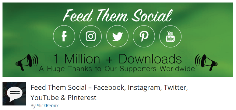 Feed Them Social, Instagram Plugins