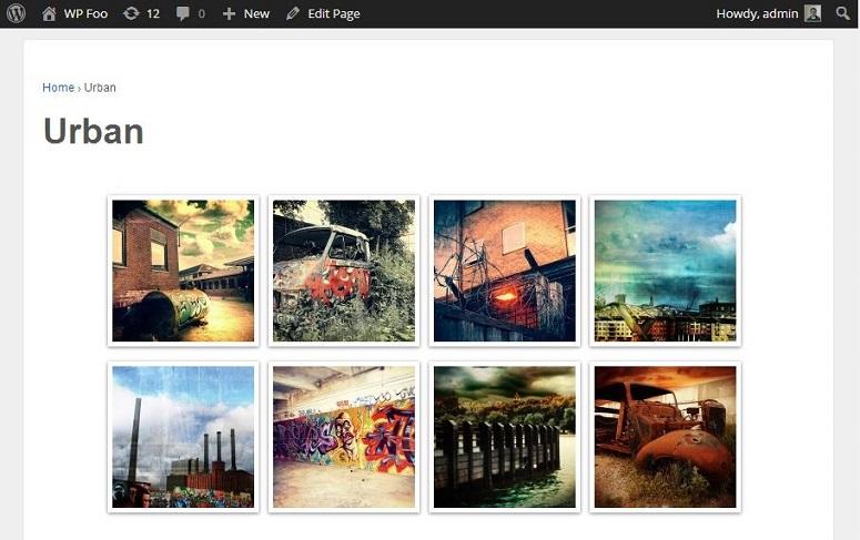 FooGallery Gallery styles
