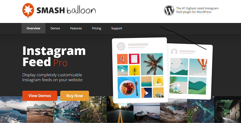 Instagram Feed- Smash Balloon, Instagram plugins