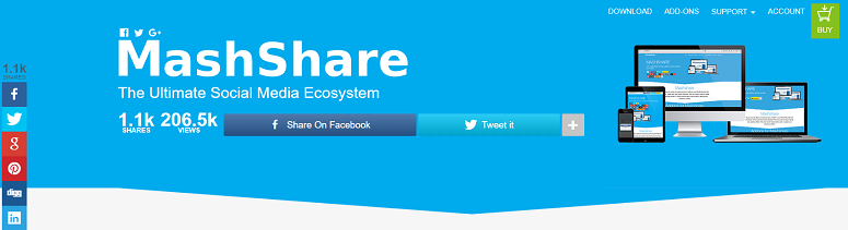 Mashshare, click-to-tweet plugins