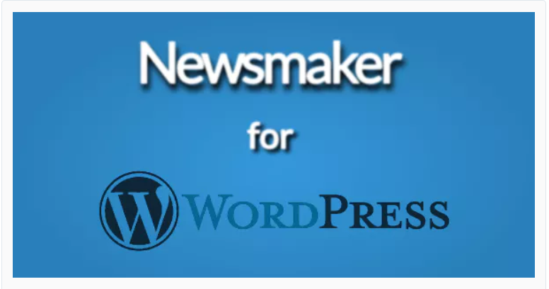 Newsmaker for WrdPress, user-generated plugins
