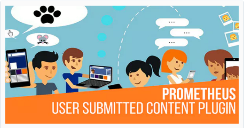 Prometheus, user-generated content