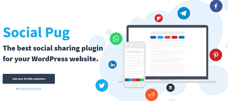 Social Pug, click-to-tweet plugins
