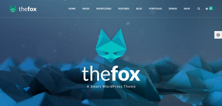TheFox, magazine theme, magazine wordpress theme