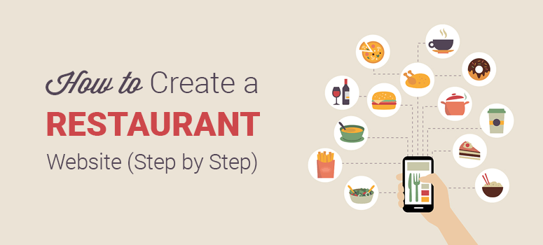 Create a restaurant website
