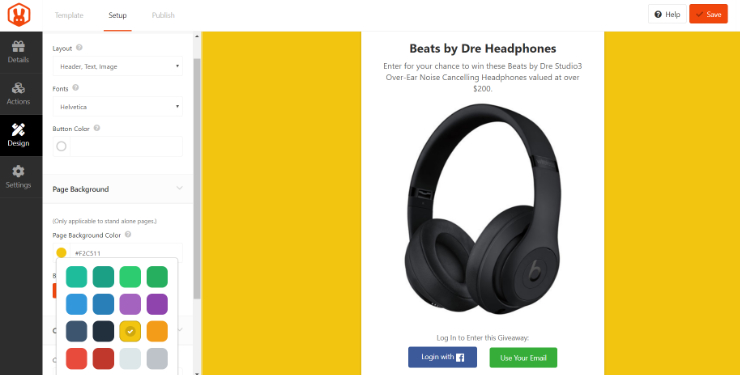 rafflepress-giveaway-plugin-design