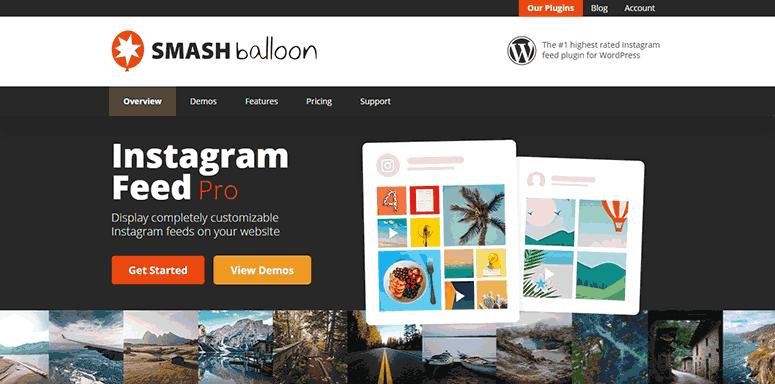 Smash Balloon Instagram Pro