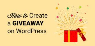 wordpress-giveaway