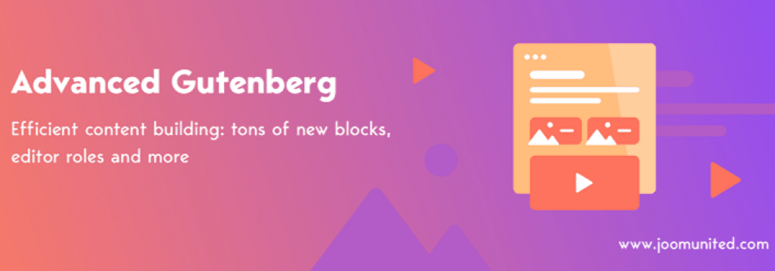 Advanced Gutenberg, block plugins