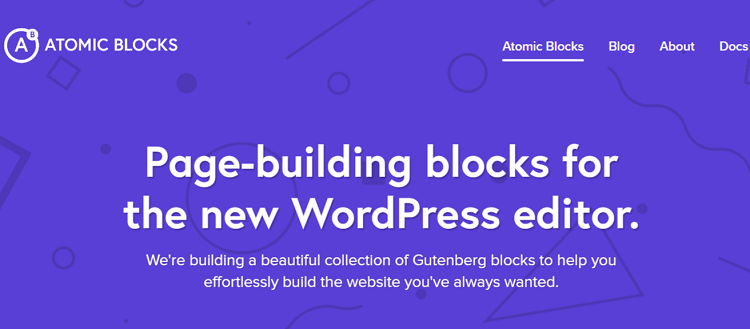 Aomic blocks, gutenberg block plugins