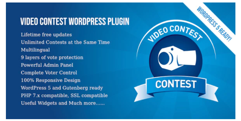 Video contest wp plugin, giveaway plugins, contest plugins