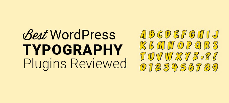 best wordpress typography plugins compared