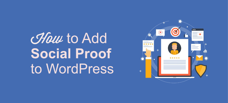 Add social proof to wp