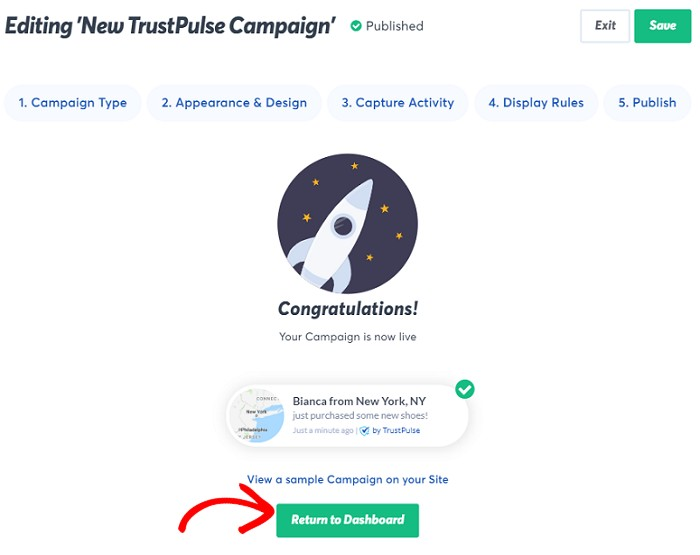 TrustPulse Campaign launched