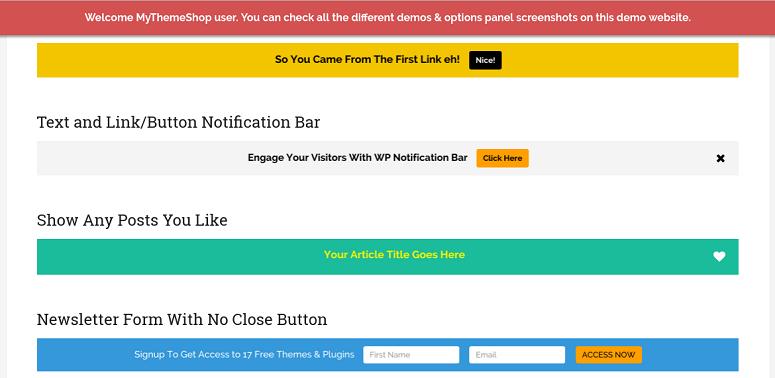 10 Best WordPress Notification Bar Plugins to Boost Engagement 1