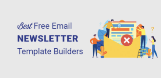 best free email newsletter template builders