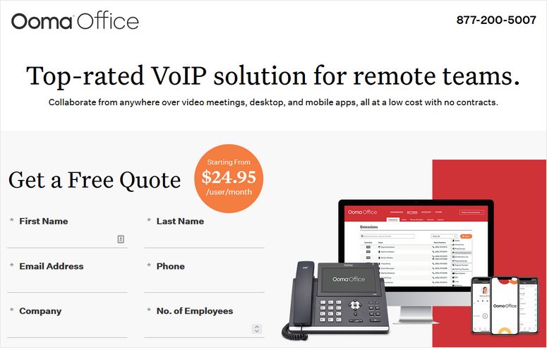 ooma business phone system