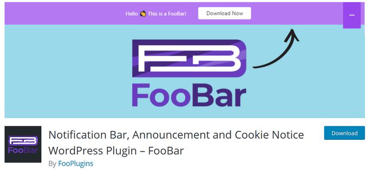 foobar footbar notifications
