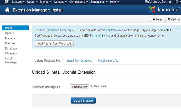 joomla extensions