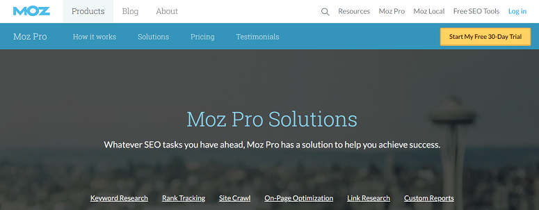 moz, backlink checker tools