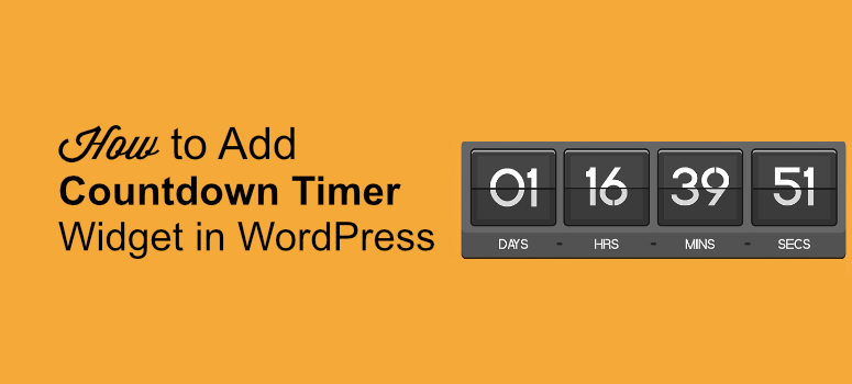 countdown timer in wp