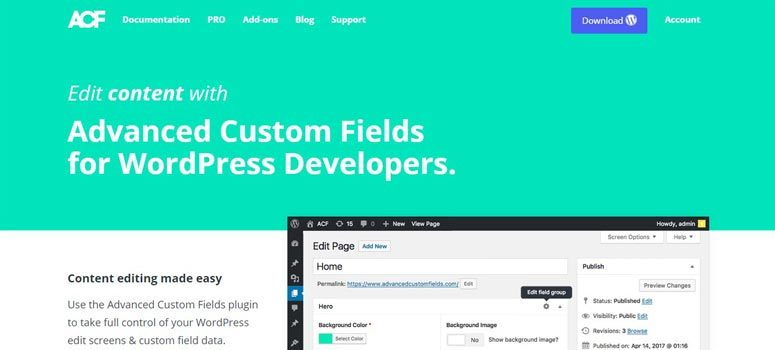 Advanced Custom Fields Pro WordPress Black Friday Deals