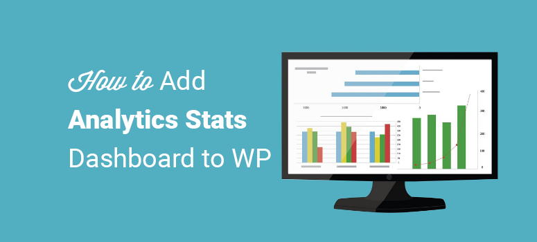 how to add analytics stats dashboard to wordpress